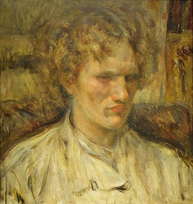 ワシリー・エロシェンコ肖像画
